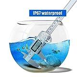 LIDAUTO Elektronische Digitale Messschieber Hochpräzises Messwerkzeug Edelstahlinstrument Wasserdichtes IP67,Bluetooth,0-150mm