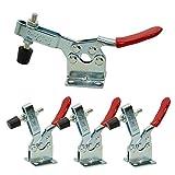 Imagine 201B Schnellspanner-Set, 4 Stück, Handwerkzeug, 89,8 kg Haltevermögen, rutscht nicht, horizontal, Schnellspanner, robust