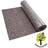ProfessionalTree Malervlies ca. 1 m x 50 m = 50 m² Abdeckvlies in Premium Qualität mit PE Anti Rutsch Beschichtung 180g je qm stark, rutschhemmender Malerfilz