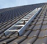 Kaminkehrerleiter Dachleiter Aluminium 25 Sprossen 7,00m
