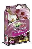 CUXIN DCM AKTIV-ERDE Orchideen 10 Ltr. - mit Weißtorfbröckchen und Dekorrinden für eine optimale Drainage