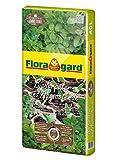 Floragard Bio Kräuter- und Aussaaterde ohne Torf 40 L • Bio-Spezialerde • zur Anzucht und zum Umtopfen • für Jungpflanzen und Kräuter wie Basilikum, Thymian, Lavendel, Minze, Oregano • mit Perlite und Bio-Dünger • torffrei