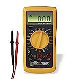 Hama Digital Multimeter (Spannungsmesser, Stromprüfer, Widerstand) Strommessgerät schwarz/gelb