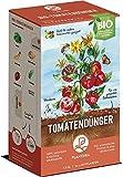 Plantura Bio Tomatendünger mit 3 Monaten Langzeit-Wirkung, für eine aromatische & reiche Tomatenernte, biologisch, unbedenklich für Haus- & Gartentiere, für Balkon und Garten, 1,5 kg, Tomaten Dünger