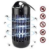 AUTSCA Anti Moskito Lampe, UV LED Moskito-Lampe Elektrischer Insektenvernichter 9W Keine giftigen Chemikalien, Innen- und Gartenlampe zum Töten von Mücken, Insekten, Motten, Fliegen