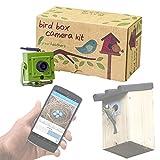 Green Feathers WLAN Bird Box Kamera – HD mit IR, microSD Aufzeichnung, View direkt auf Handy oder Tablet