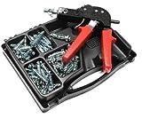 Hohlraumdübel Set, Hohlraumdübelsatz mit Zange, 71 Hohlraumdübeln in 4 Größen M4/M5 ! Praktisch für jeden Haushalt!