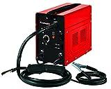 Einhell Fülldraht-Schweißgerät TC-FW 100 (230 V, 45 - 90 A, stufenloser 2-Rollen-Drahtvorschub, inkl. Schlauchpaket, Massekabel, Schlackenhammer, Schweißschirm)