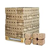 PALIGO Holzbriketts Ruf Duplex Hartholz Eiche Kamin Ofen Brenn Holz Heiz Brikett 10kg x 30 Gebinde 300kg / 1 Palette Heizfuxx