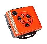 Windhager Mäuseabwehr, Mäusevertreiber Ultraschall Topo Stop E250 Mäuseschreck für die Steckdose Universalschutz, rot, 10.5x9.5x3 cm, 05040
