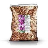 GREEN24 Orchideenerde MK Erde für Orchideen 10 Ltr. Premium Profi Linie Substrat Phalaenopsis, Cattleya, Dendrobium, Paphiopedilum, Cymbidium etc. (Mittlere Körnung, 10 Liter)