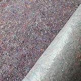 Malervlies Abdeckvlies Schutzvlies 180g/m² 1. 2 oder 3 Rollen (je ca. 1m x 50m) (1 Rolle, Grau)