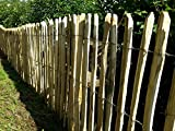 Staketenzaun Kastanienholz 75cm hoch 7,5cm Abstand 5m Rolle, Staketenzaun aus England, Staketenzäune in riesiger Auswahl,