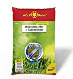 WOLF-Garten - Moosvernichter und Rasendünger - SW 400 - 14 kg für 400 m² - 3841040