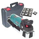 55187 Lackfräse 710W + 10 Ersatzmesser Lackschleifer Fräse Schleifgerät Koffer AWZ, Hobel Elektrohobel