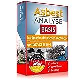 Asbest Test Basis – Check zum Nachweis von Asbest in Staub- oder Materialprobe – professionelle Laboranalyse auf Asbest