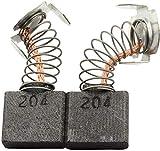 Kohlebürsten für MAKITA KC 100 PL Kettenstemmer -- ?x?x?mm -- 0.0x0.0x0.0'' -- Mit automatische Abschaltung