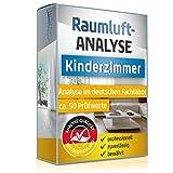 Raumluft Test fürs Kinderzimmer – Luftanalyse auf 50 Schadstoffe – professionelle Analyse im deutschen Fachlabor