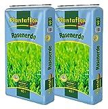 Plantaflor Plus Rasenerde (80 Liter Sack (2 x 40 L Sack))