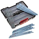 Bosch Professional 15tlg. Säbelsägeblatt Wood and Metal Set (für Holz und Metall, Toughbox, Zubehör Säbelsäge)