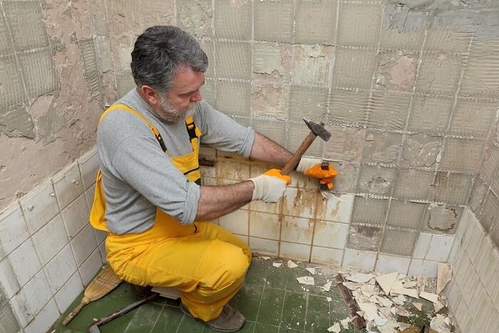 Fliesenkleber Entfernen HeimwerkerBeraterde - Fliesen auf rigips entfernen
