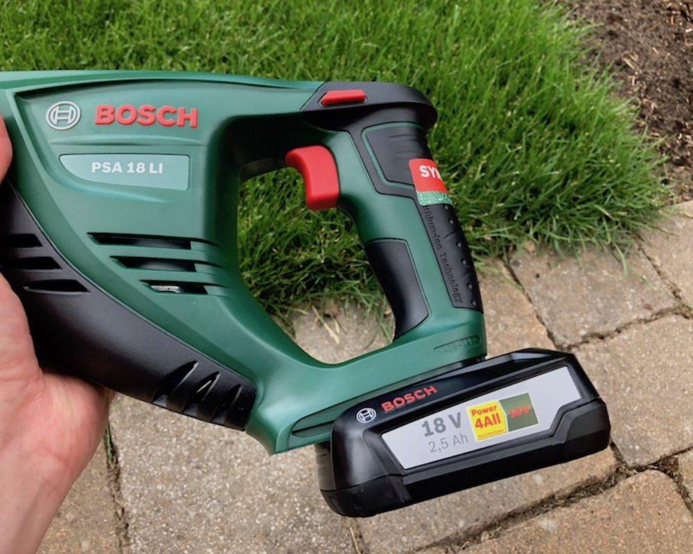 Bosch Akku-Säbelsäge PSA 18 LI_Praxistest_9301