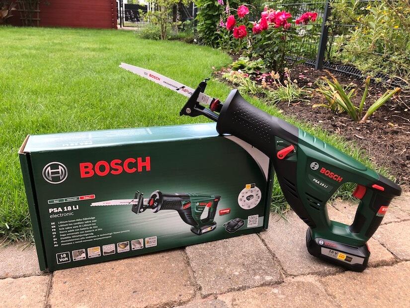 Bosch Akku-Säbelsäge PSA 18 LI im Praxistest