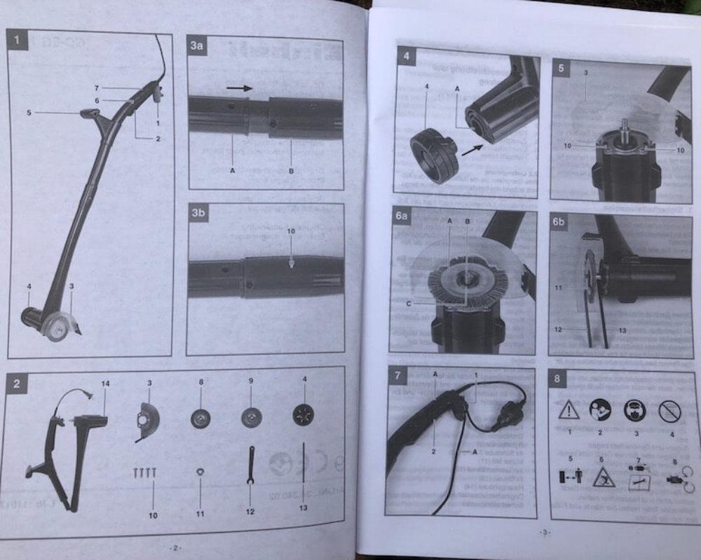 Einhell Elektrischer Fugenreiniger GC-EG 1410 im Praxistest_9074