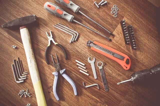 Feinwerkzeuge: ein Muss für Heim- und Handwerker. Foto: picjumbo_com / pixabay.com