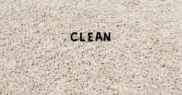 ein sauberer Teppich