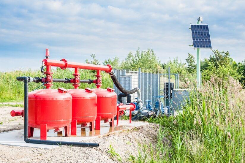 Solarpumpe für Wasser