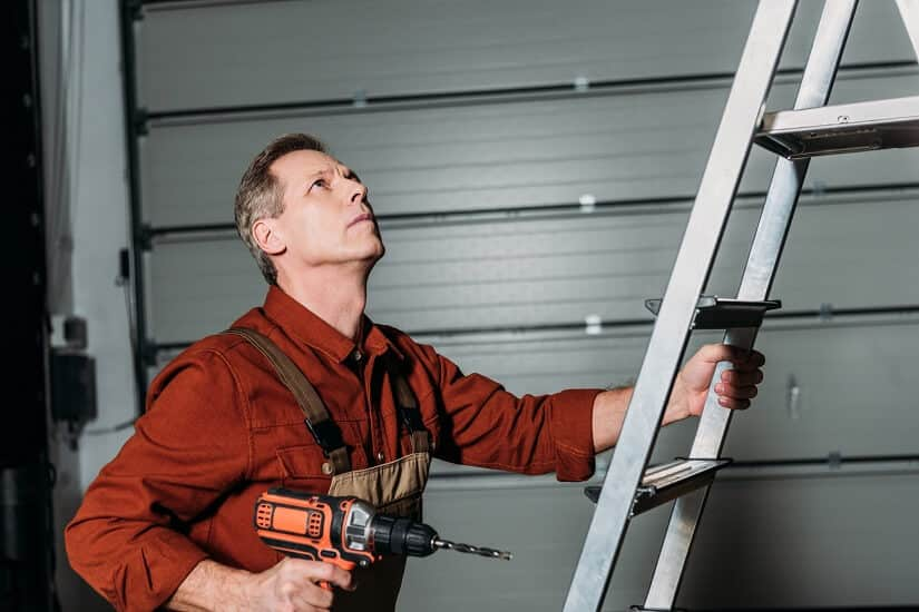 6 in 1 3.6M Anlegeleiter Multifunktionsleiter Mehrzweckleiter Aluminium Verstellbar Klappleiter Gelenkleiter Leiter Stehleiter Leiterger/üst Arbeitsb/ühne 12 Stufen 150 kg Belastbarkeit
