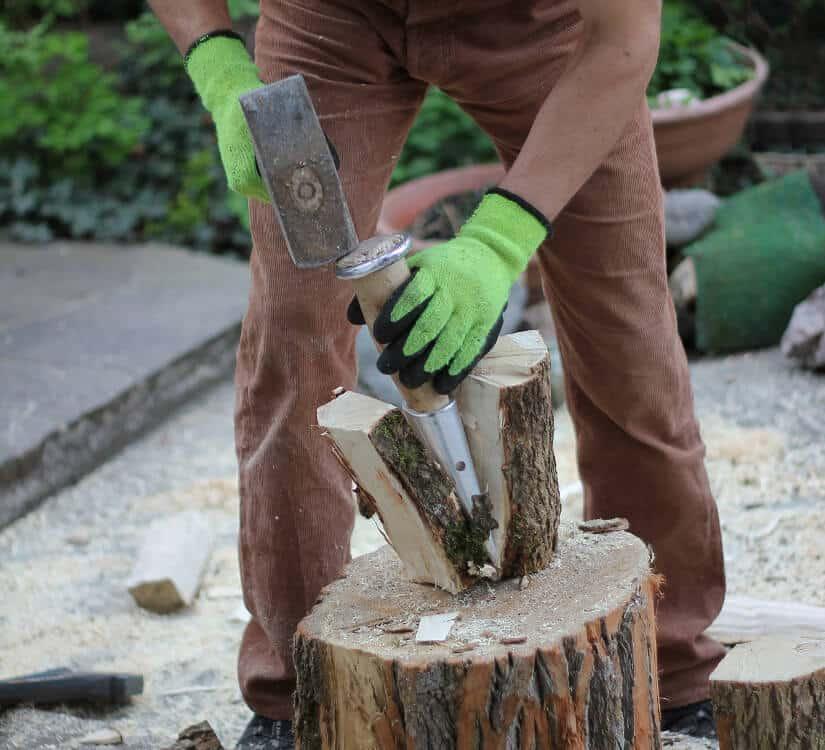 Holz spalten Werkzeug