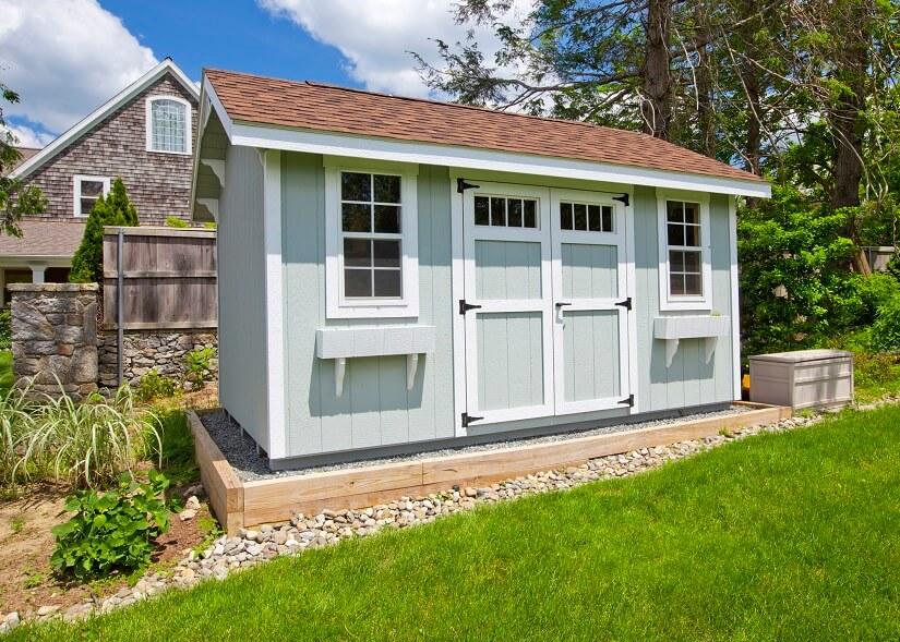 Gartenhaus als Alternative zum Wintergarten
