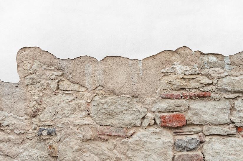 Sandstein Putz entfernen