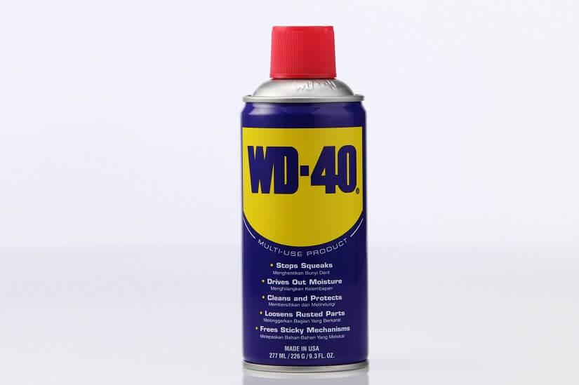 wd-40 als Rostlöser