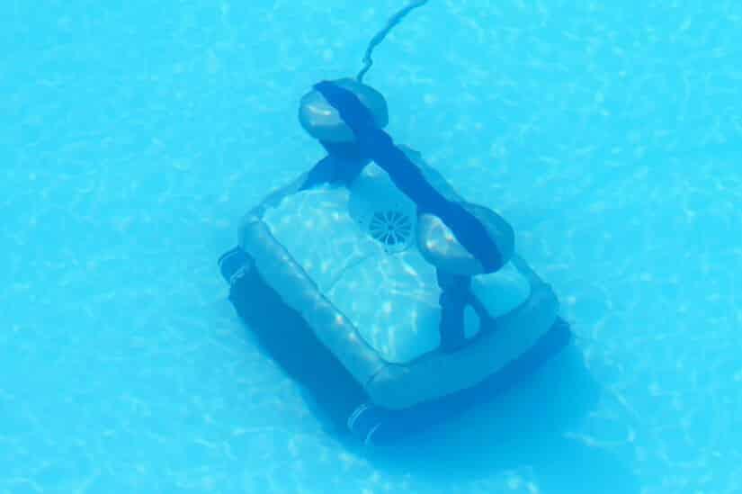 Poolsauger in der Poolroboter-Version
