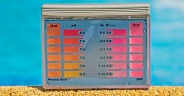 Chlorwert-Tester für den Pool