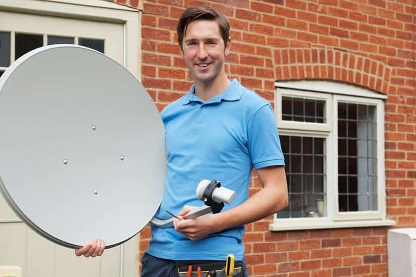Satellitenschüssel ausrichten Schritt-für-Schritt-Erklärung